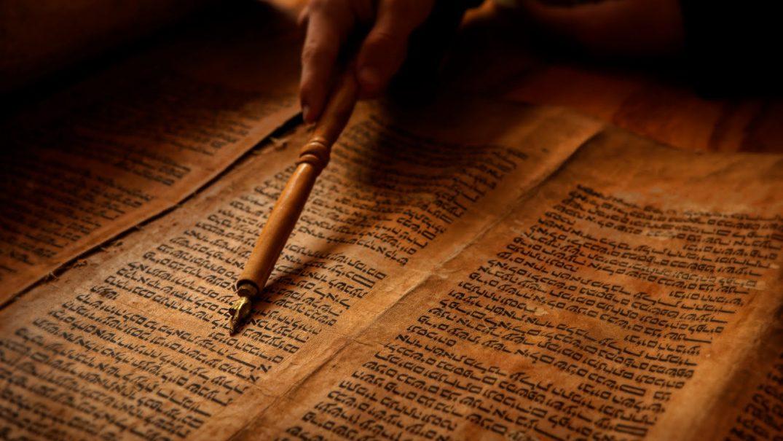 Ancient Scroll Prophecy Picture Studii Majori