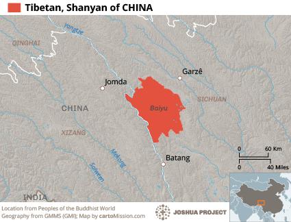 tibetan shanyan map Resurse