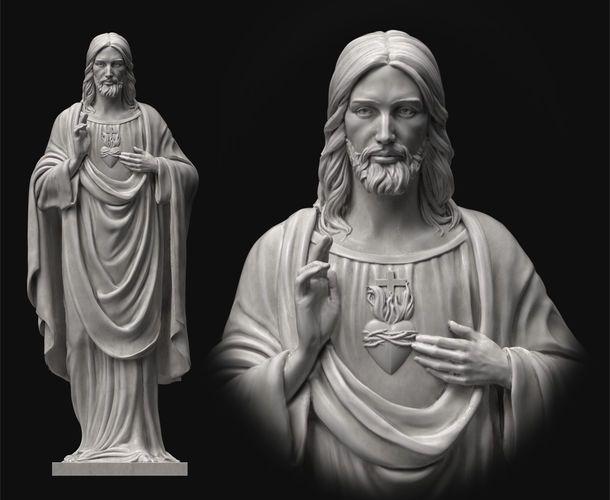 statue of Jesus 2 Studii Juniori