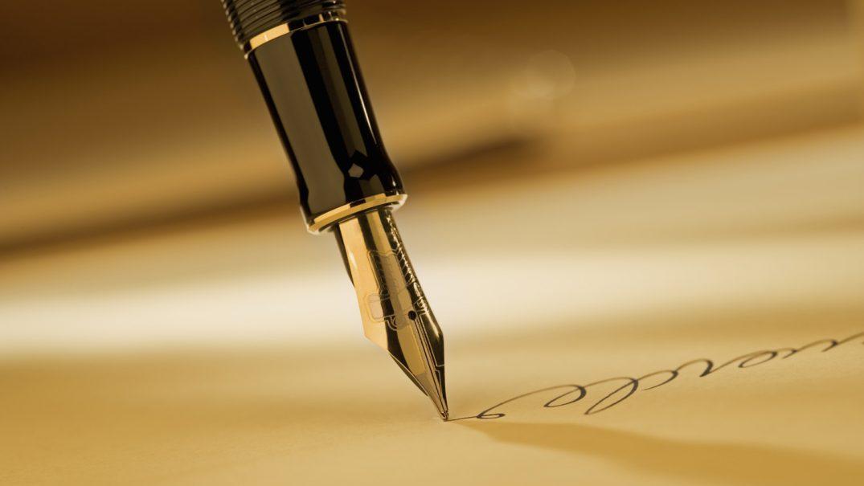 g pen writing on paper Resurse