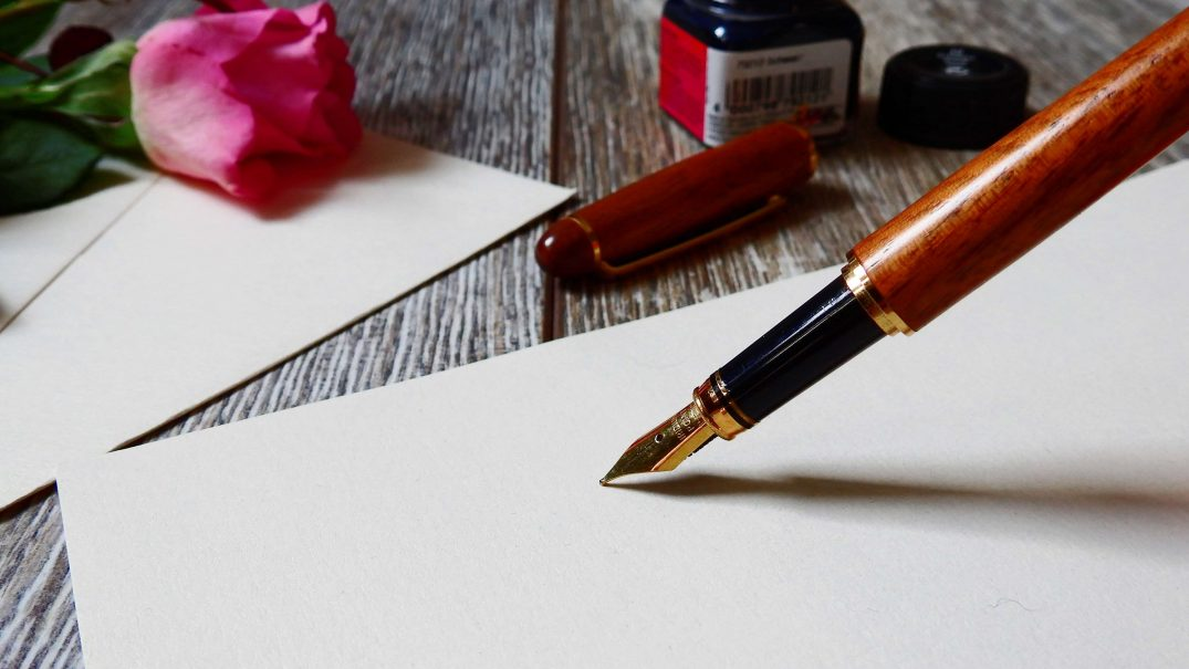 3066304 blank bloom blossom business close up communication composition creativity document flower fountain pen ink letter love note notebook paper pen romantic rose sheet stationery write writing Resurse