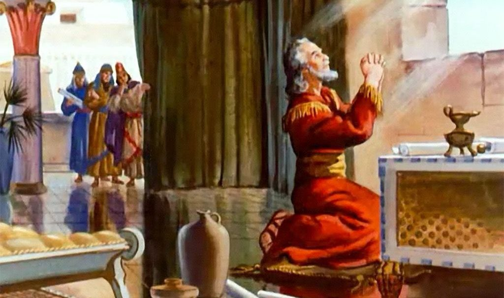 daniel praying Studii Majori