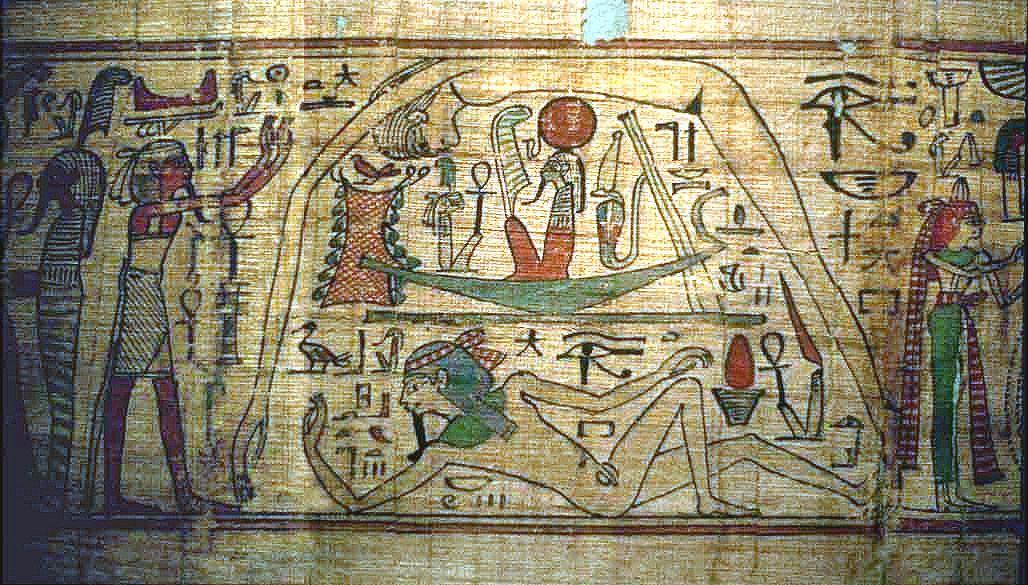 Egypt creation2 Studii Majori