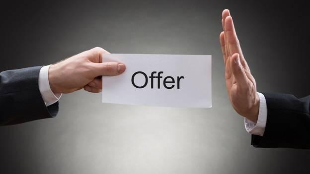 turn down the offer Studii Adolescenți