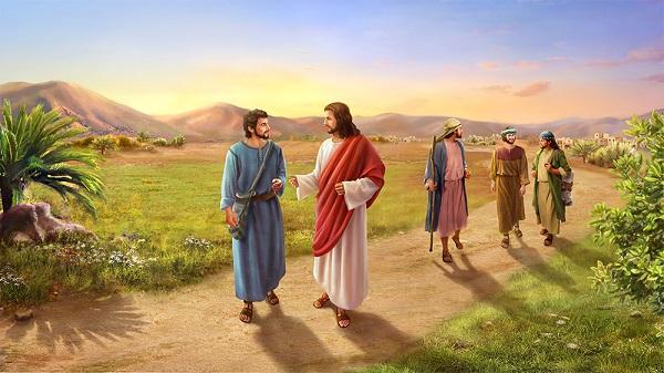 Jesus talking2 Studii Majori