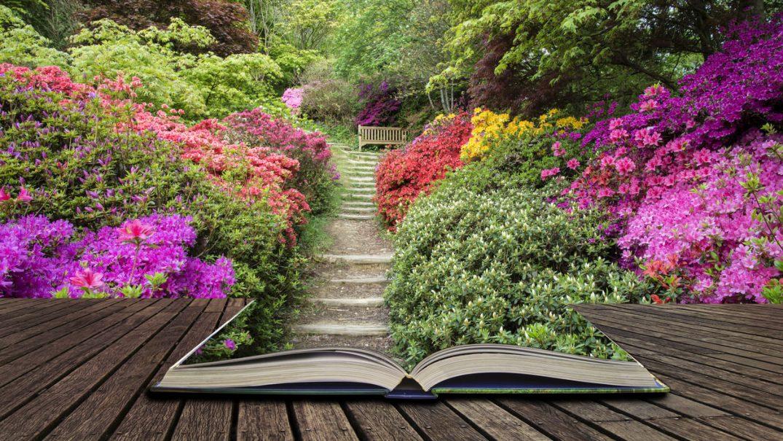 garden open book Resurse