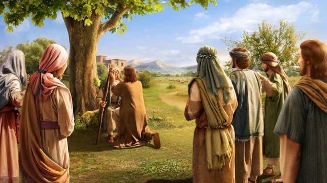 Jesus Healing the Blind Man Studii Majori