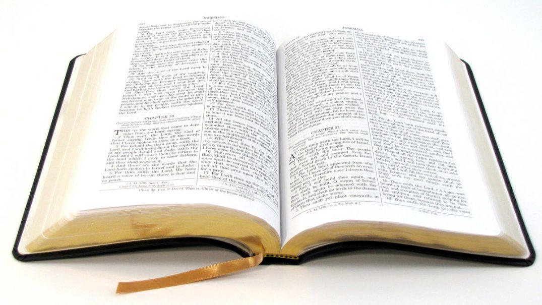 biblie deschisa 1 Biblia la rând