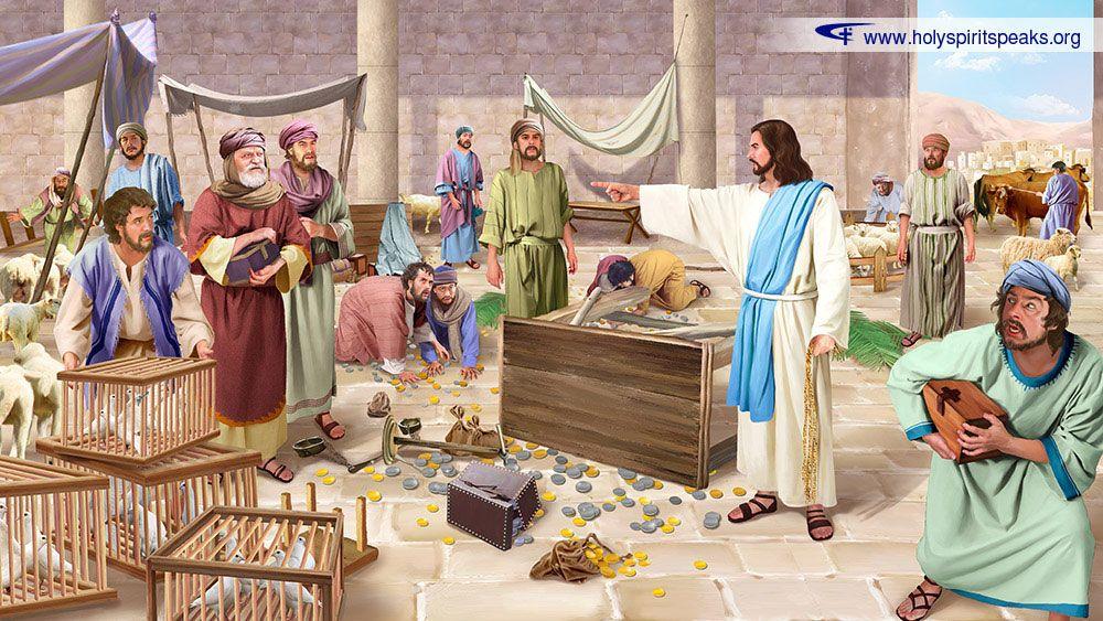 Jesus in the Temple 2 Studii Juniori